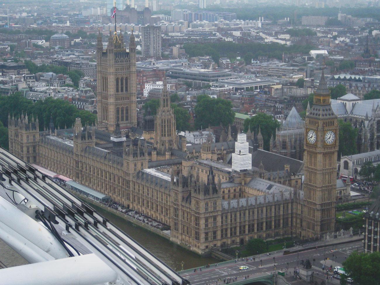 Londyn główne atrakcje