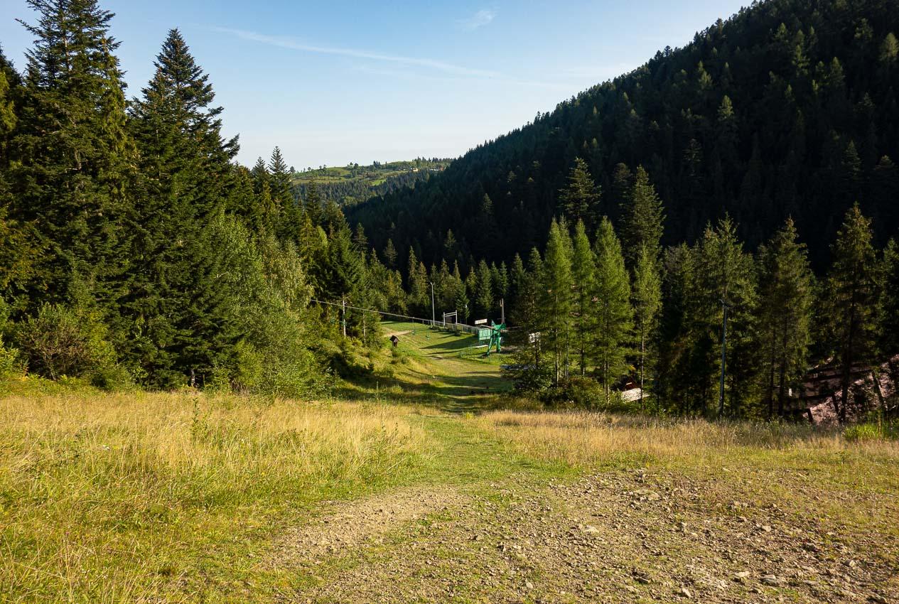 Szlak na Turbacz z Koninek